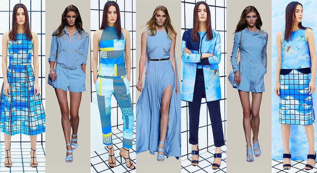Пантон - модные цвета 2018 года
