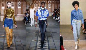 Миниатюра к статье Модные джинсы осень-зима 2017-2018