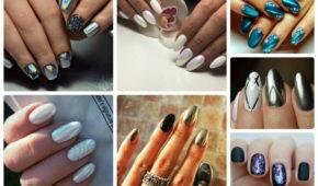 Миниатюра к статье Втирка для ногтей — как наносить на гель лак. Идеи и новинки дизайна маникюра с втиркой — 60 фото
