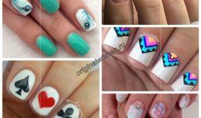 Миниатюра к статье Дизайн ногтей гель-лаком на короткие ногти фото-новинки 2018-2019 года