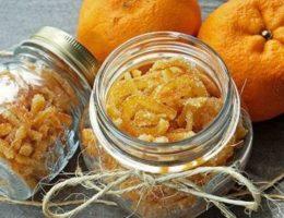 цукаты из мандариновых корочек