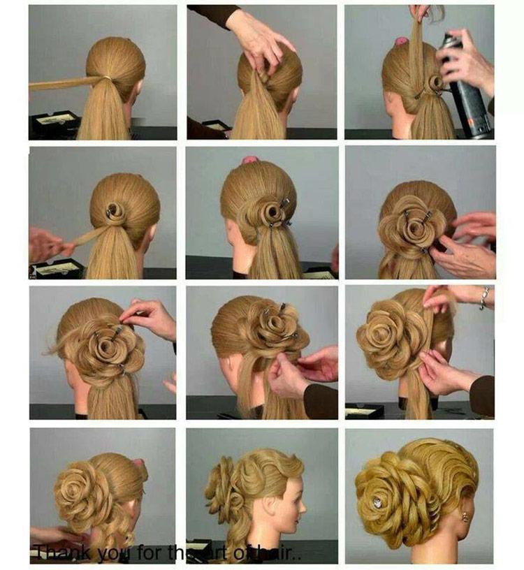 городах цветок из волос пошаговая инструкция фото препятствием для